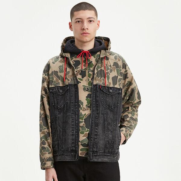 Levi's® x Justin Timberlake Hooded Trucker Jacket