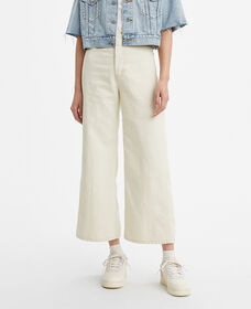 Levi's® WellThread™ Ribcage Cropped Wide Leg Jeans