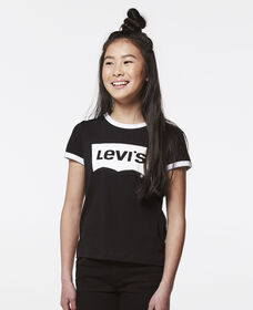 Girls Levi's® Retro Ringer Tee Shirt