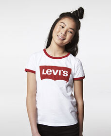 Girls 7-16 Levi's® Retro Ringer Tee