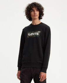 Levi's® Logo Crew Neck Sweatshirt