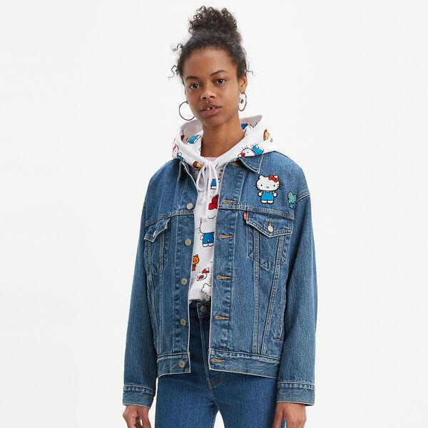 Levi's® x Hello Kitty® Dad Trucker Jacket