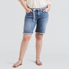 Shaping Bermuda Shorts (Plus)