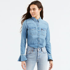 Celia Ruffle Shirt