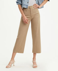 Ribcage Wide Leg Cropped Pants