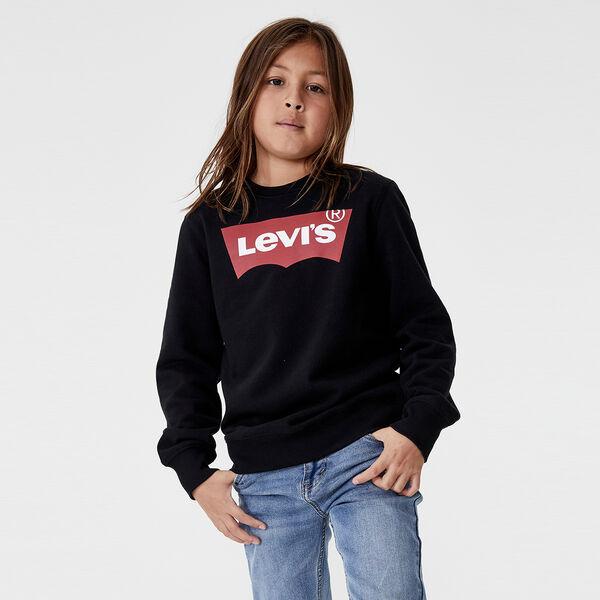 Boys Batwing Pullover Sweatshirt