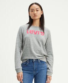 Classic Graphic Crew Neck Sweatshirt
