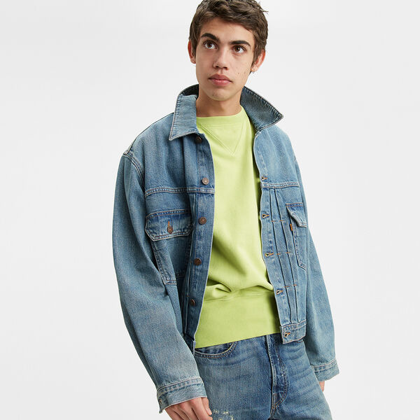 Levi's® Vintage Clothing Orange Tab Type II Trucker Jacket