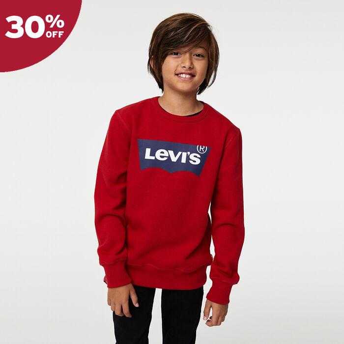 Big Boys (S-XL) Batwing Pullover Sweatshirt