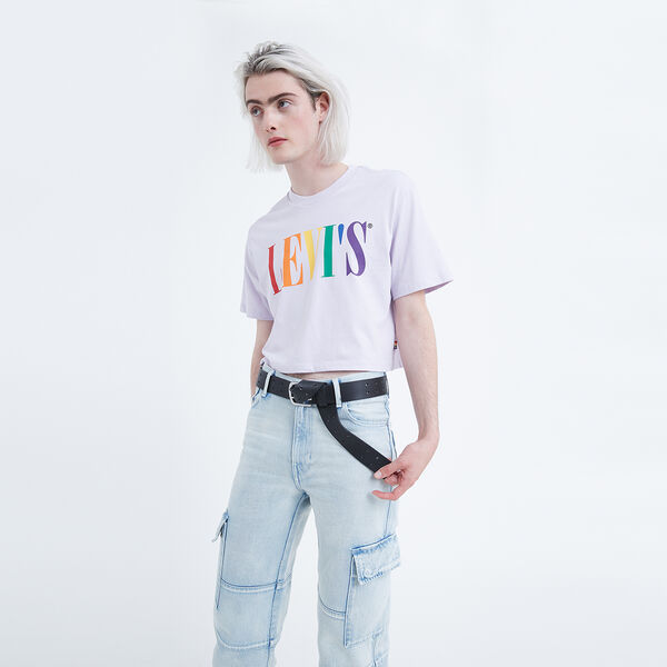 Levi's® Pride Cropped Tee
