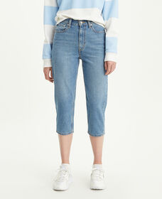 Mom Cropped Jeans