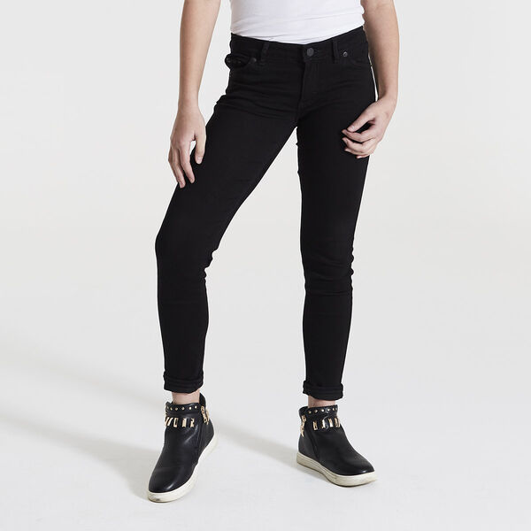 Big Girls (Size 7-16) 710 Super Skinny Fit Distressed Jeans