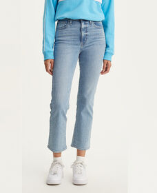 Mile High Cropped Flare Jeans