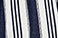 Indigo Railroad Stripe Rinse