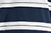 Bolt Stripe Dress Blues